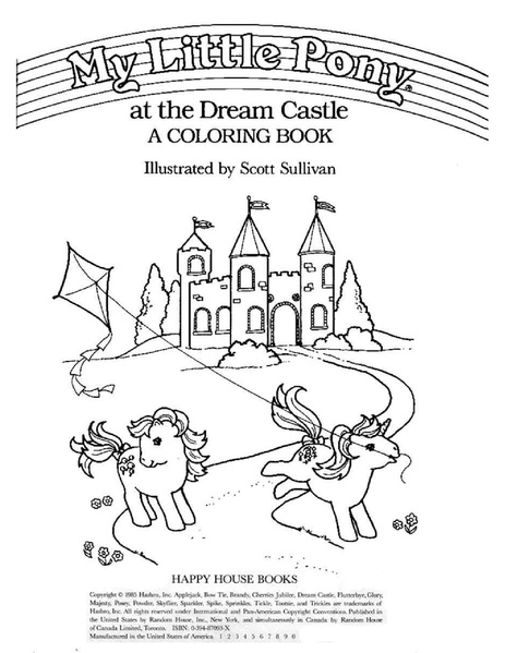 - File:My Little Pony At The Dream Castle.pdf - My Little Wiki
